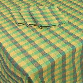 Столовый набор вид 5/76-3 скатерть Х/Б 150/150 + 6 салфеток фото