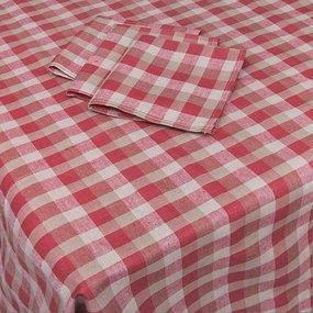 Столовый набор вид 5/76-4 скатерть Х/Б 150/190 + 6 салфеток фото