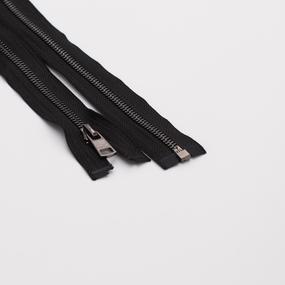 Молния металл №5ТТ черный никель разьем 70см D580 черный фото