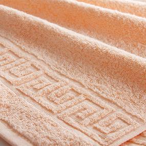Полотенце махровое Туркменистан 40/65 см цвет персиковый фото