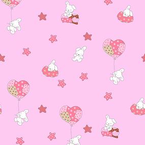 Ткань на отрез поплин 150 см 1722/4 цвет розовый фото