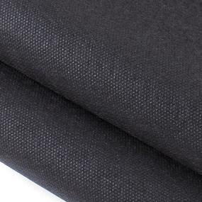 Маломеры спанбонд 55 гр/м2 160 см цвет черный 0.9 м фото