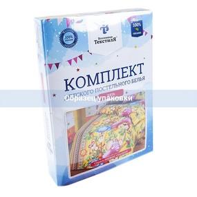 Постельное белье детское 494/1 Коржик 1.5 сп фото