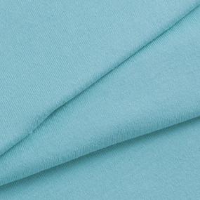 Мерный лоскут кулирка гладкокрашеная 2068 цвет ментол 50/98х2 см фото