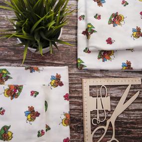 Набор детских пеленок фланель 4 шт 75/120 см 157-2П фото