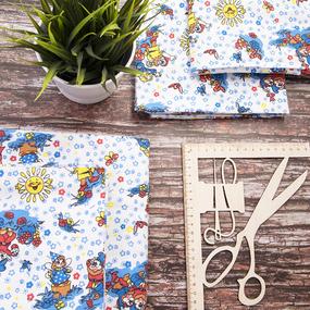 Набор детских пеленок фланель 4 шт 75/120 см 195-2П фото