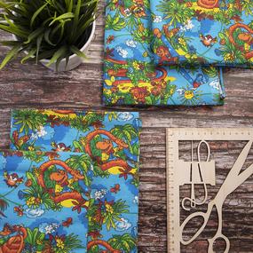Набор детских пеленок фланель 4 шт 75/120 см 199-1П фото