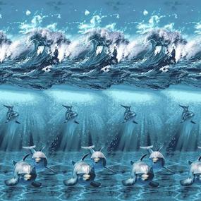 Бязь Премиум 220 см набивная Тейково рис 6475 вид 1 фото