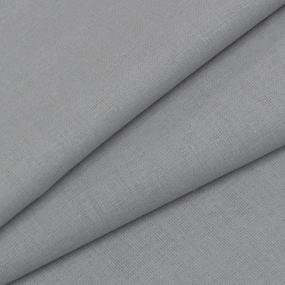 Бязь гладкокрашеная 120гр/м2 150 см цвет серый фото