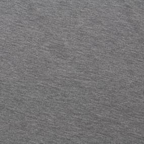 Ткань на отрез футер петля с лайкрой 04-12 цвет серый меланж фото