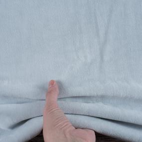 Ткань на отрез велюр 9554 Glacier Grey фото