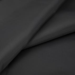 Ткань на отрез таффета 150 см 190Т цвет №1313 темно-серый фото