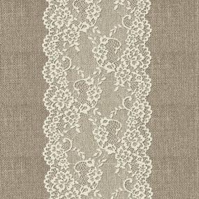 Ткань на отрез дорожка 50 см 5494/1 Кружево фото