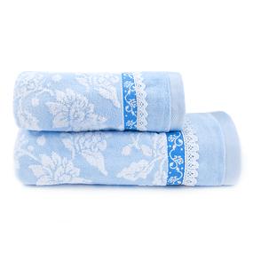 Полотенце махровое Sunvim 16B-10 60/130 см цвет голубой фото