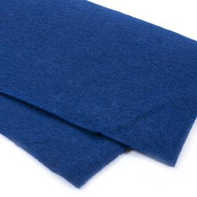 Фетр листовой мягкий IDEAL 1 мм 20х30 см FLT-S1 упаковка 10 листов цвет 673 т-синий фото