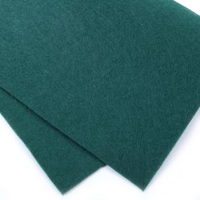 Фетр листовой мягкий IDEAL 1 мм 20х30 см FLT-S1 упаковка 10 листов цвет 678 зеленый фото