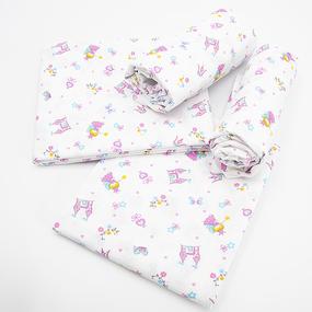 Набор детских пеленок ситец 4 шт 95/120 см 21070/3 фото