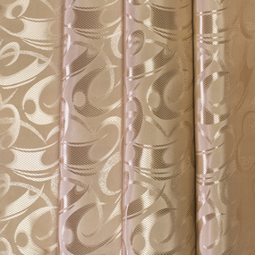 Маломеры портьерная ткань 150 см 2 цвет кофейный 1 м фото