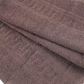 Полотенце махровое 30/50 см цвет 905 шоколадный фото