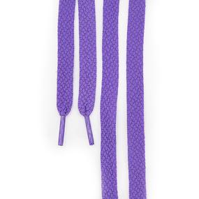 Шнур плоский фиолетовый 120см уп 2 шт фото