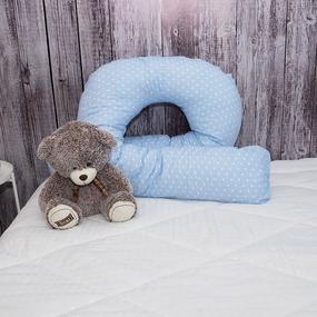 Подушка для беременных U-образная 1746/3 цвет голубой фото
