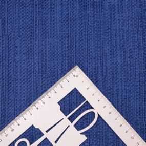 Ткань на отрез бязь 120 гр/м2 220 см 2049315 Эко 15 цвет синий фото