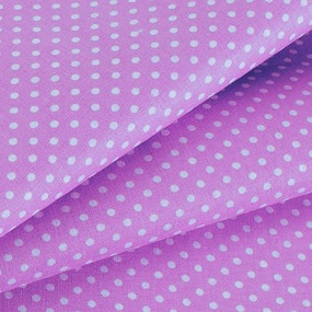 Ткань на отрез бязь плательная 150 см 1590/27 цвет фиалка фото