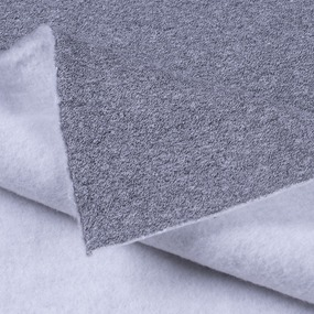 Ткань на отрез футер 3-х нитка компакт пенье меланж цвет серый фото
