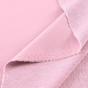 Ткань на отрез футер 3-х нитка диагональный цвет розовый фото