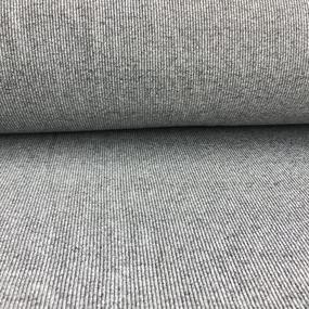 Ткань на отрез кашкорсе 3-х нитка с лайкрой меланж цвет серый фото