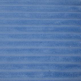 Ткань на отрез велсофт Orrizonte 300 гр/м2 200 см 5760 цвет голубой 2 фото