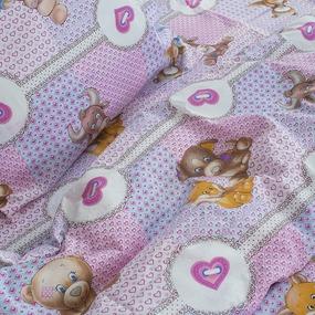 Детское постельное белье из бязи 1.5 сп 8257/1 Пуговка фото