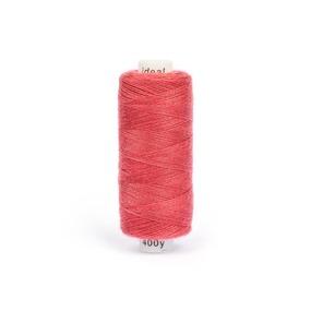 Нитки бытовые IDEAL 40/2 366м 100% п/э, цв.181 розовый фото