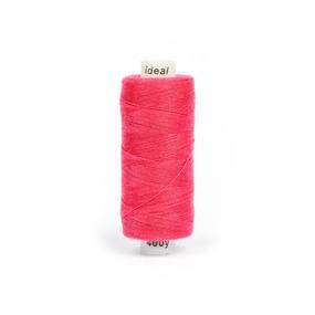 Нитки бытовые IDEAL 40/2 366м 100% п/э, цв.178 розовый фото