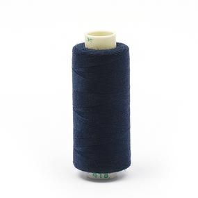 Нитки бытовые Dor Tak 40/2 366м 100% п/э, цв.418 синий фото