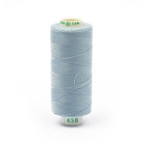 Нитки бытовые Dor Tak 40/2 366м 100% п/э, цв.438 голубой фото