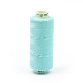 Нитки бытовые Dor Tak 40/2 366м 100% п/э, цв.441 голубой фото