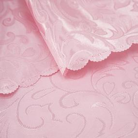 Портьерная ткань 150 см на отрез 100/2С цвет 21 роза фото