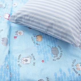 Детское постельное белье из бязи 1.5 сп 3033-1 Котики фото