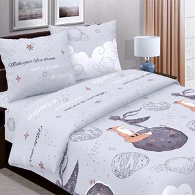 Детское постельное белье из поплина 1.5 сп 780-1 Маленький принц фото