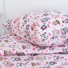 Детское постельное белье 13175/1 Малыши девочки Модель 3 1.5 сп перкаль фото