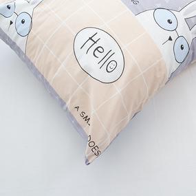 Наволочка Поплин детская 3060-1 Кроля основа в упаковке 2 шт 70/70 см фото