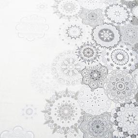 Простынь бельевое полотно 21147 вид 1 Льняное кружево Евро фото