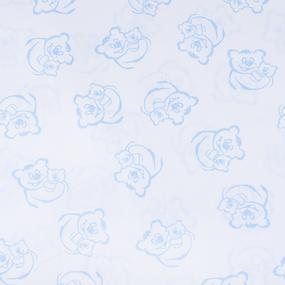 Маломеры поплин 150 см 393А/3 цвет голубой 3 м фото