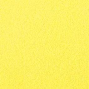 Фетр листовой жесткий IDEAL 1 мм 20х30 см FLT-H1 упаковка 10 листов цвет 633 лимон фото