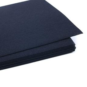 Фетр листовой жесткий IDEAL 1 мм 20х30 см FLT-H1 упаковка 10 листов цвет 655 иссиня черный фото