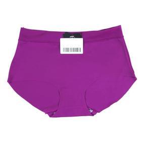 Трусы бесшовные 9686 цвет фиолетовый р 2XL (42-44) фото