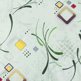 Мерный лоскут бязь о/м 100 гр/м2 150 см 319/1 Вальс цвет зеленый фото