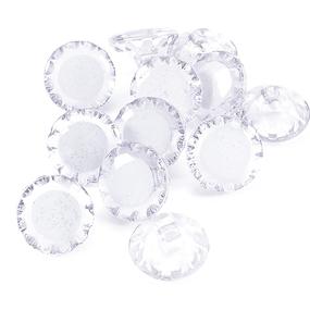 Пуговицы Блузочные 18 мм цвет С082 белый упаковка 12 шт фото