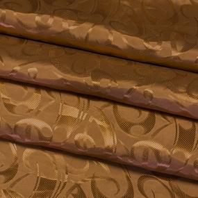 Портьерная ткань 150 см 10-2 цвет коричневый фото